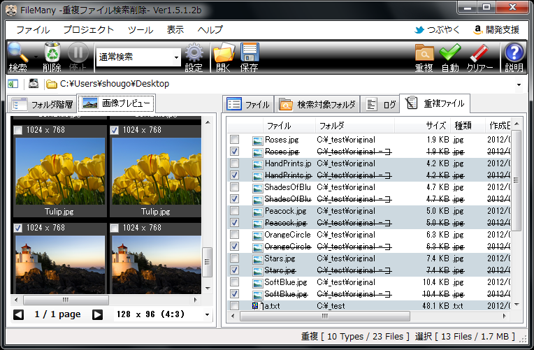 FileMany 64-bit screenshot